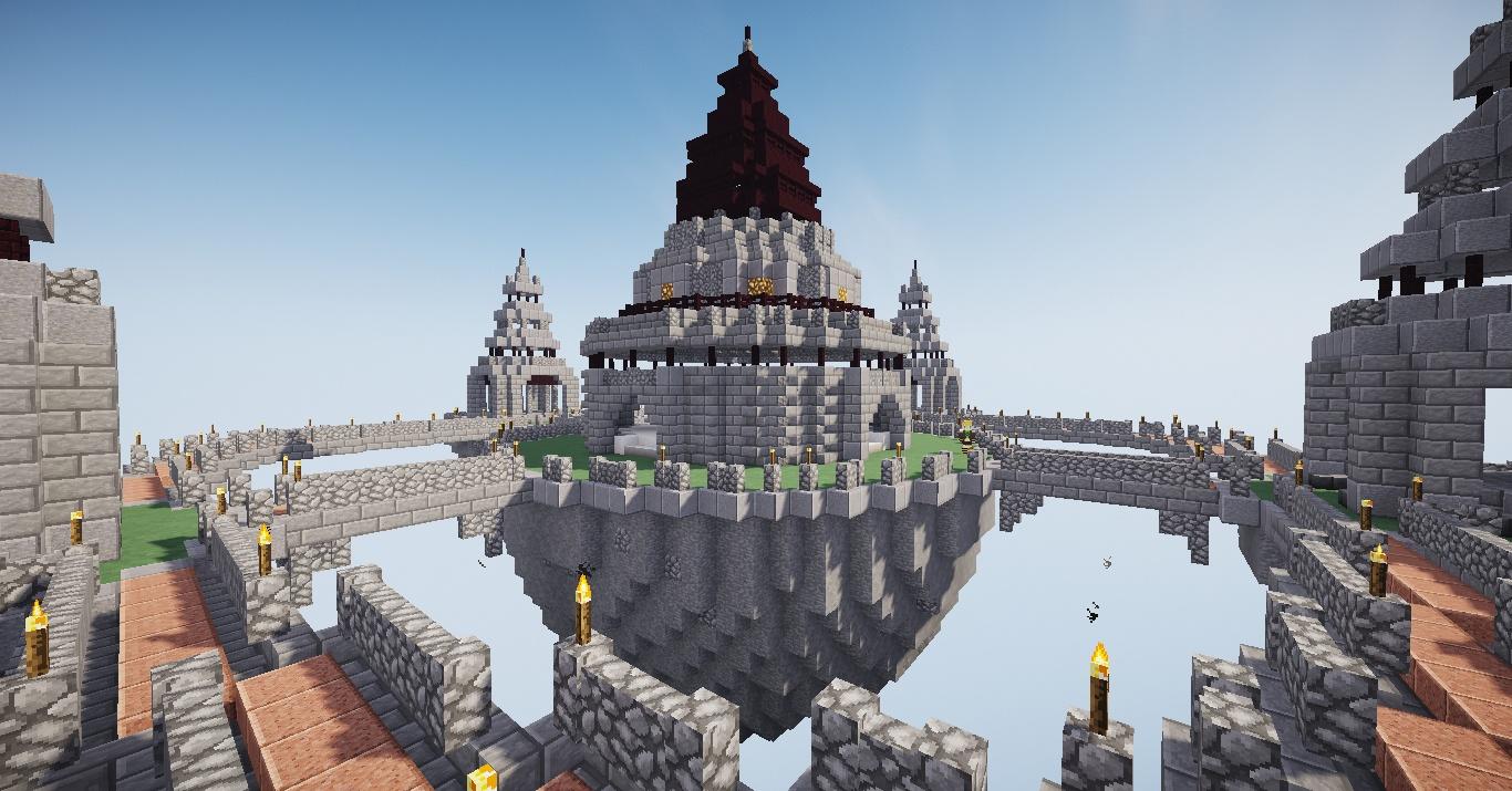 世紀末鯖に天空の城が出来ました